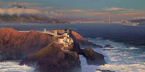 """Point Bonita- Last Night"" by William S. Phillips"