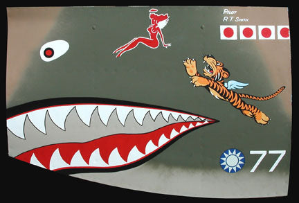 """R.T. SMITH - NOSE ART PANEL"" by GARY VALESCO"