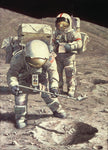 """Senator Schmitt Samples Subsurface Soil"" by Alan Bean"