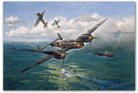 """Struck by a Thunderbolt"" by Heinz Krebs"