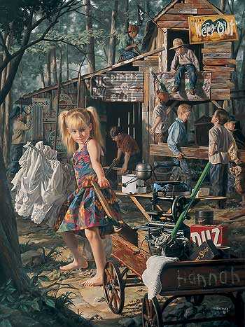 """The Clubhouse"" by Bob Byerley"