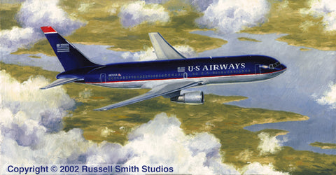 """US AIRWAYS 767"" by RUSSELL SMITH"