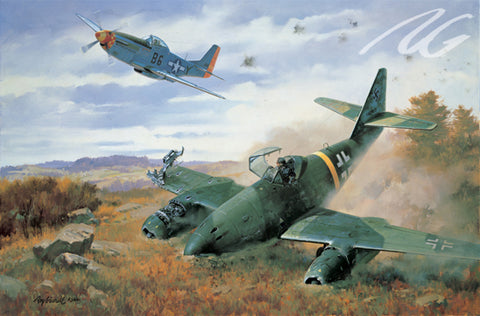 """Yeager's First Jet"" by Roy Grinnell  Please call for price/availability"