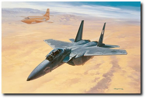 """Yeager's Last Military Flight"" by Roy Grinnell"