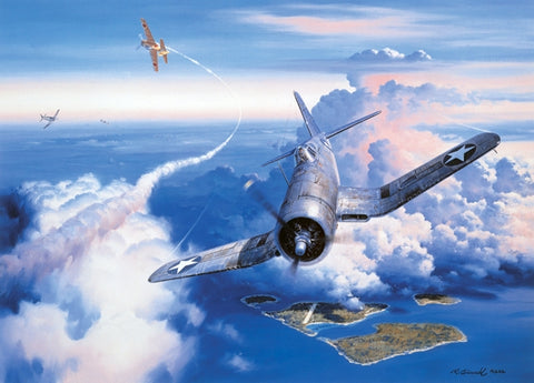 """Zero Fighter Sweep"" by Roy Grinnell"