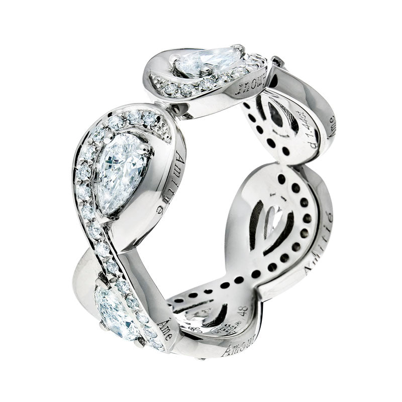 3ternity Diamond Ring in Platinum