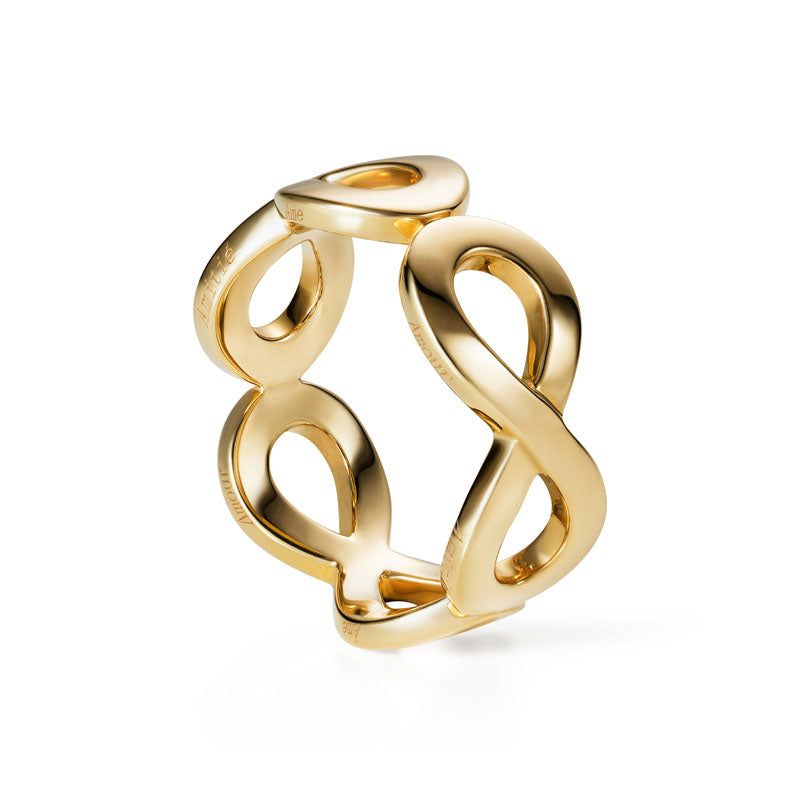 3ternity Ring in 18K Yellow Gold
