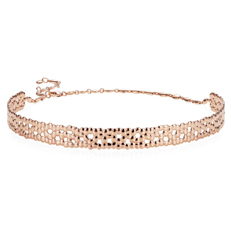 Skinny Choker Necklace in 18K Rose Gold