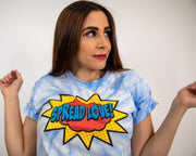Spread Love Superhero Edition Tee Shirt- Blue