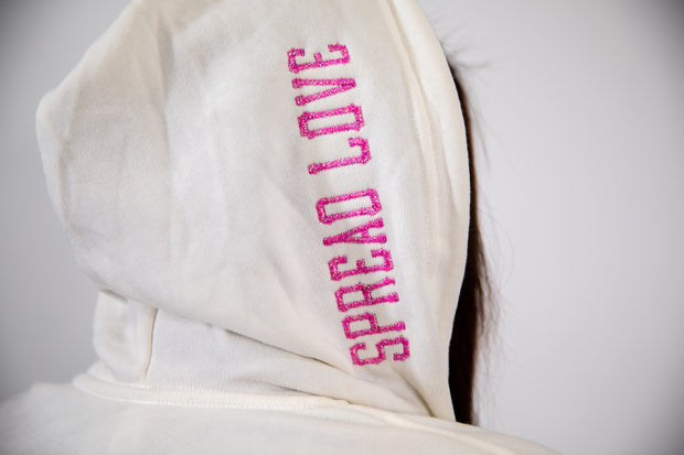 Exclusive Glam Zip-Up- Pink Glam