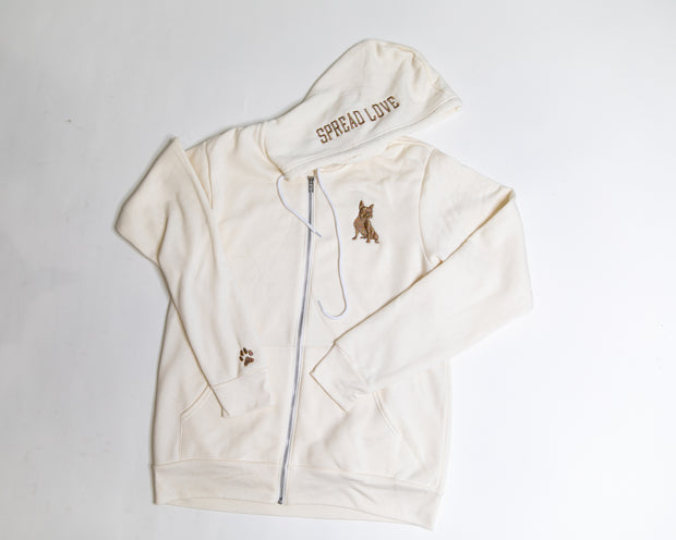 Exclusive Glam Zip-Up- Unicorn Glam
