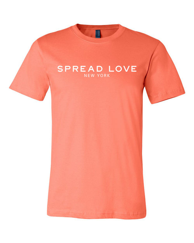 Coral Spread Love Statement Tee