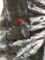 Personalized Mothers Day Exclusive Black Tie Dye