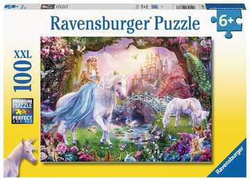 Magical Unicorn - 100 piece puzzle