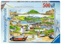 Escape to Cornwall - 500 piece puzzle
