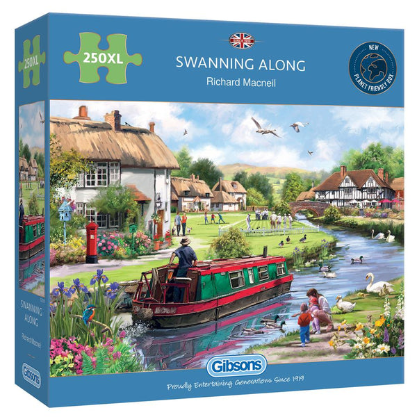 Swanning Along - 250XL piece puzzle