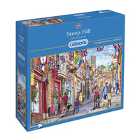Steep Hill - 1000 piece puzzle