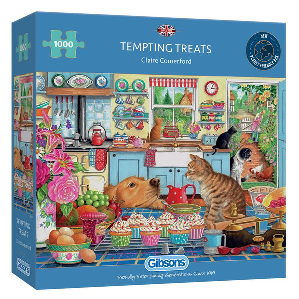Tempting Treats - 1000 piece puzzle