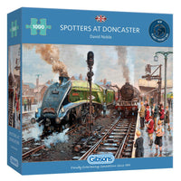Spotters at Doncaster - 1000 piece puzzle