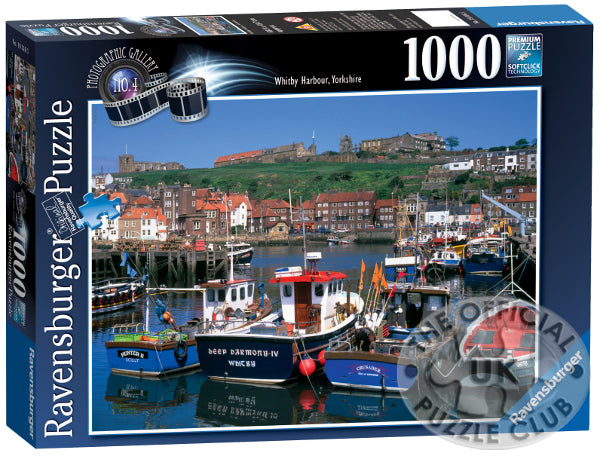 Whitby Harbour - 1000 piece puzzle
