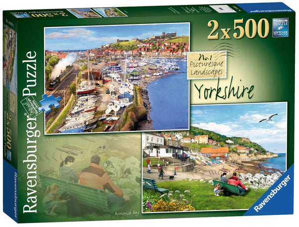 Picturesque Yorkshire - 2x500 piece puzzles