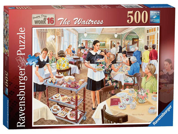 The Waitress - 500 piece puzzle