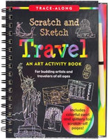 Scratch and Sketch - Travel