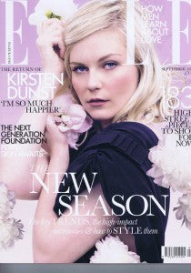 House of Harlot in ELLE Magazine September Issue 2011!