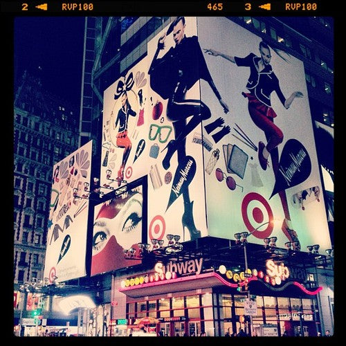 House of Harlot Latex on a HUGE Times Square Billboard & Advertising Campaign!
