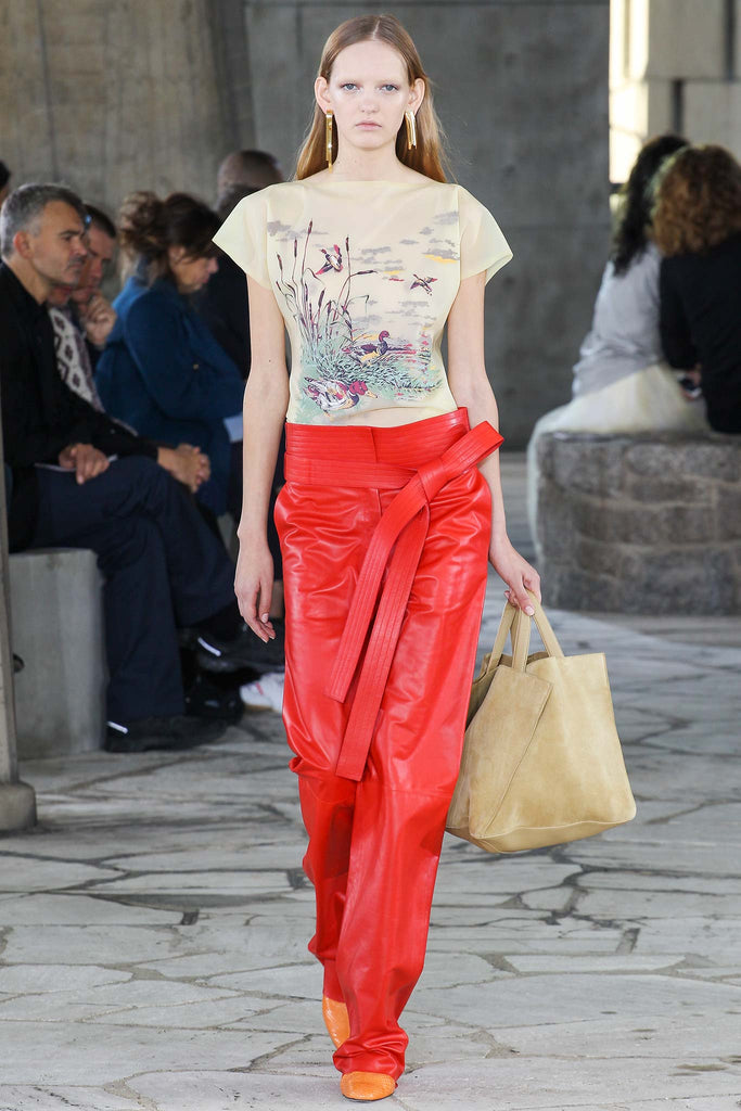 LOEWE & House of Harlot at Paris Fashion Week S/S15!