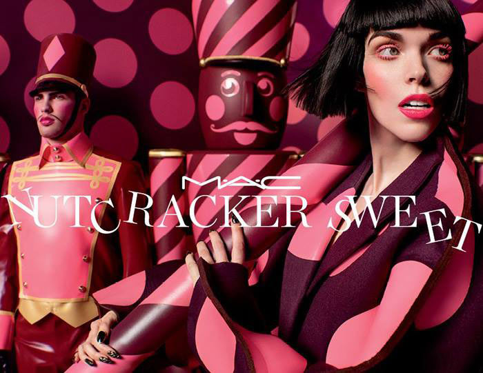 House of Harlot Creates Nutcracker Latex Outfit for MAC Nutcracker Sweet Holiday Campaign!