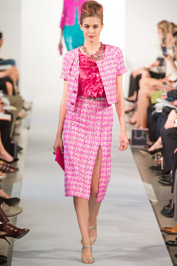 Oscar de la Renta SS/13 at NYC Fashion Week with House of Harlot!