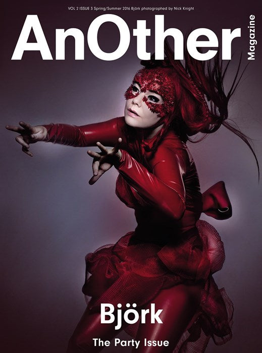 AnOther Magazine Cover Star Bjork in House of Harlot Latex