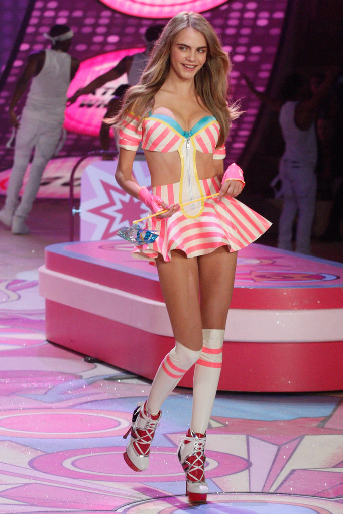 House of Harlot latex at the Victoria Secret Fashion Show 2012
