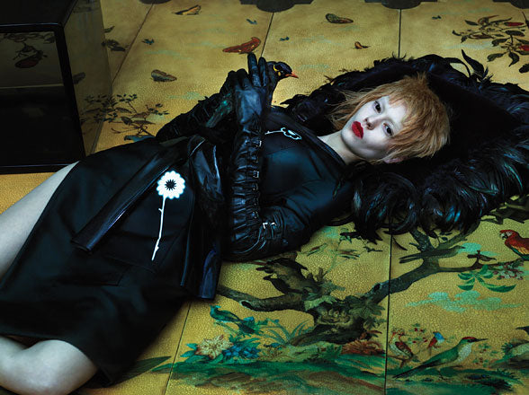 'East of Eden' featuring House of Harlot in W Magazine March 2013