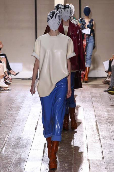 Maison Martin Margiela Couture with House of Harlot AW/13 Paris Fashion Week!