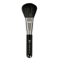 Petal Beauty Face Large Powder Flat Head makeup Brush - Black