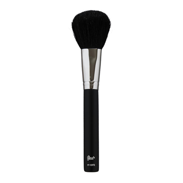 Petal Beauty Face Large Powder Round Head Travel makeup Brush - Matte