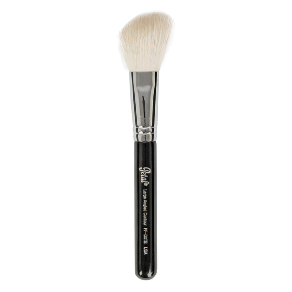 Petal Beauty Face Large Angled Contour Travel makeup Brush - Black