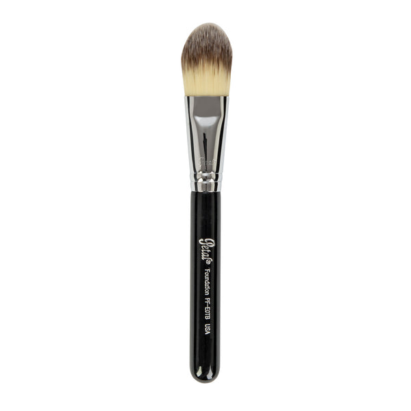 Petal Beauty Face Foundation Travel-size makeup Brush - Black
