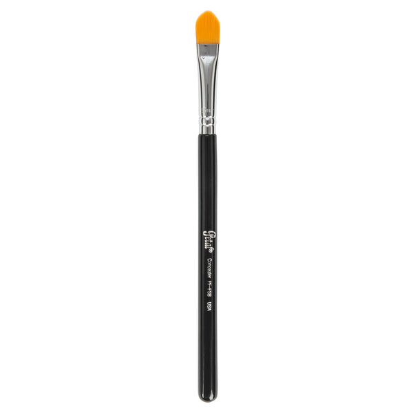 Petal Beauty Face Concealer Tapered Tip makeup Brush - Black