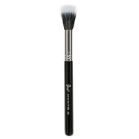 Petal Beauty Face small Duo Fiber makeup Brush - Black