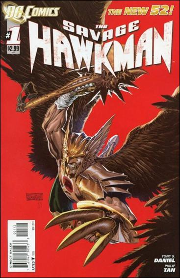 Savage Hawkman The-1/B (DC New 52)*Red Cover
