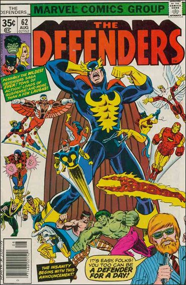 Defenders 62 (1972 1st Series)*FINE+