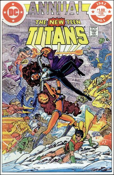 New Teen Titans (1980) Annual 01