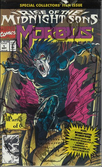 Morbius the Living Vampire 01A (1992)