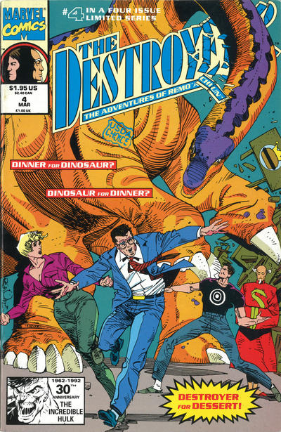 DESTROYER:Adventures of Remo & Chiun Lot (Marvel/1991)