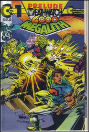MEGALITH Vol.2 Lot (Continuity Comics/1993 Series)