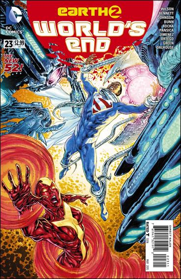 EARTH 2:WORLDS END Lot (DC/2014)