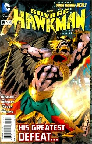 Savage Hawkman The-19 (DC New 52)